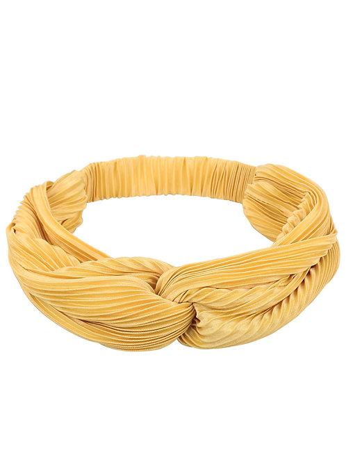 Haarband Shine Geel