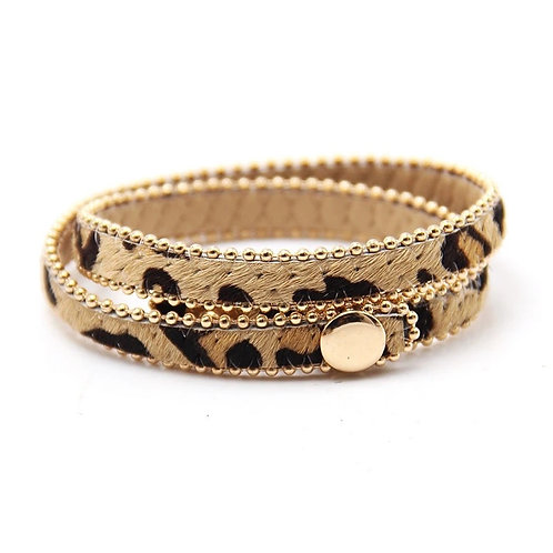 Armband Luipaardprint