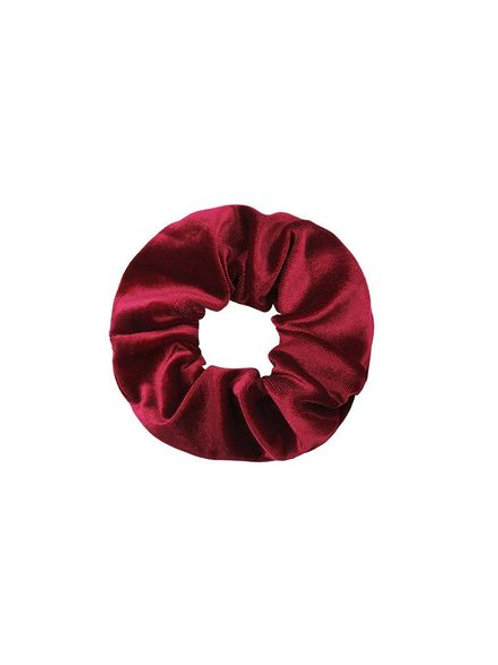 Scrunchie Bordeaux Velvet