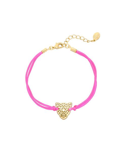 Armband Luipaard Roze