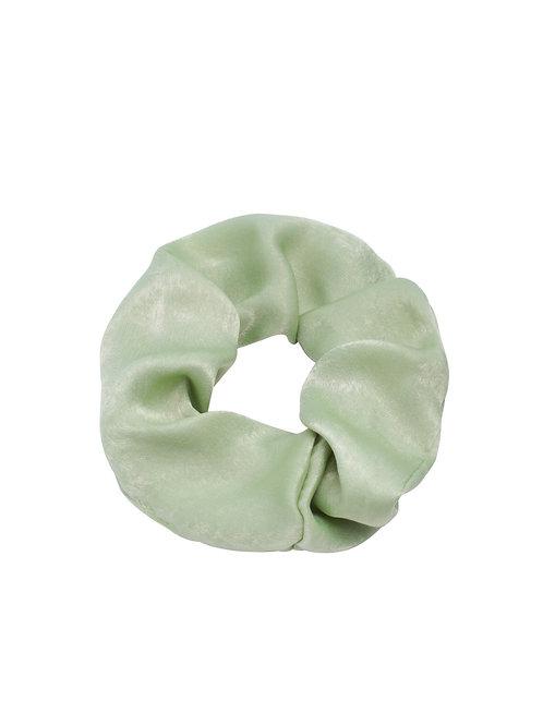Scrunchie Satijn Groen
