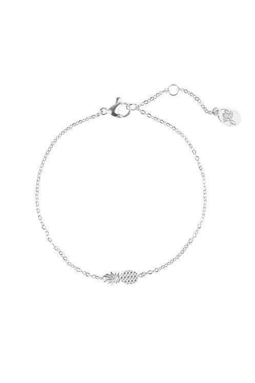 Armband Ananas Zilver