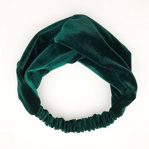 Haarband Groen Velvet