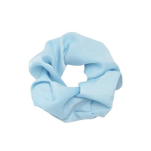 Scrunchie Satijn Blauw