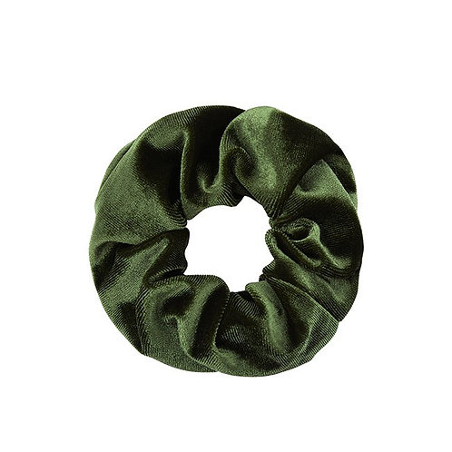 Scrunchie Army Velvet