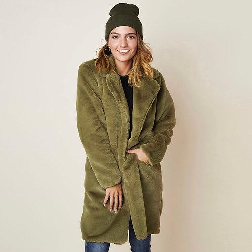 Coat Teddy Groen