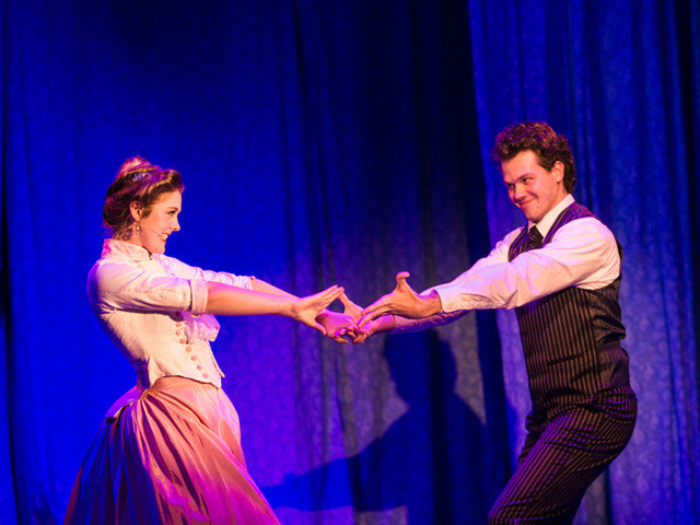 Monty Navarro - A Gentleman's Guide to Love and Murder, Clinton Area Showboat Theatre