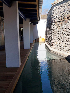 Banys termals públics El Safareig. Caldes de Montbui