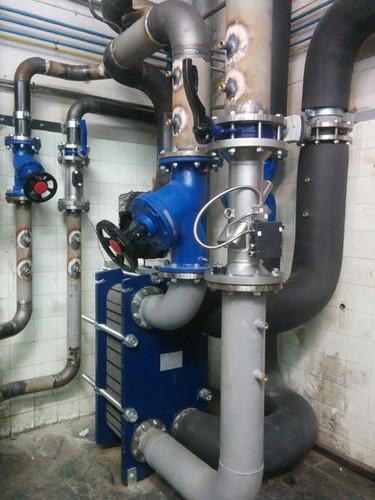 Biomassa Hospital del Terrassa. Estació d'intercanvi