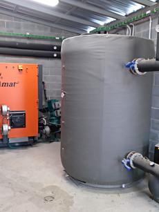 Xarxa de calor per biomassa Plana Lledó