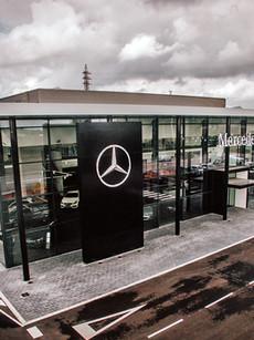 Concessionari i taller Mercedes Vic. Obra