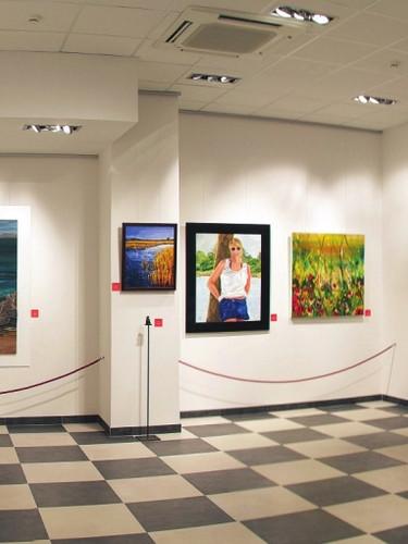 Casino de Caldes. Sala d'art