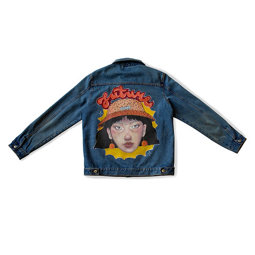 Funk hand painted jacket