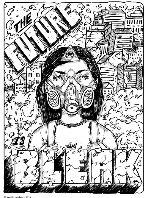 """The Future is Bleak"" Print"