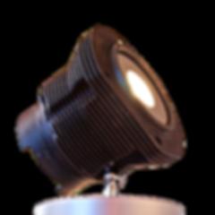 Lamp made of car parts