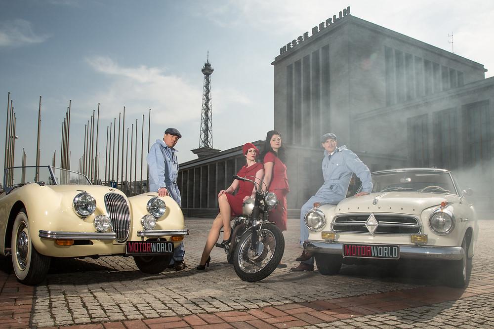 Motorworld Classics Berlin - Oldtimermesser