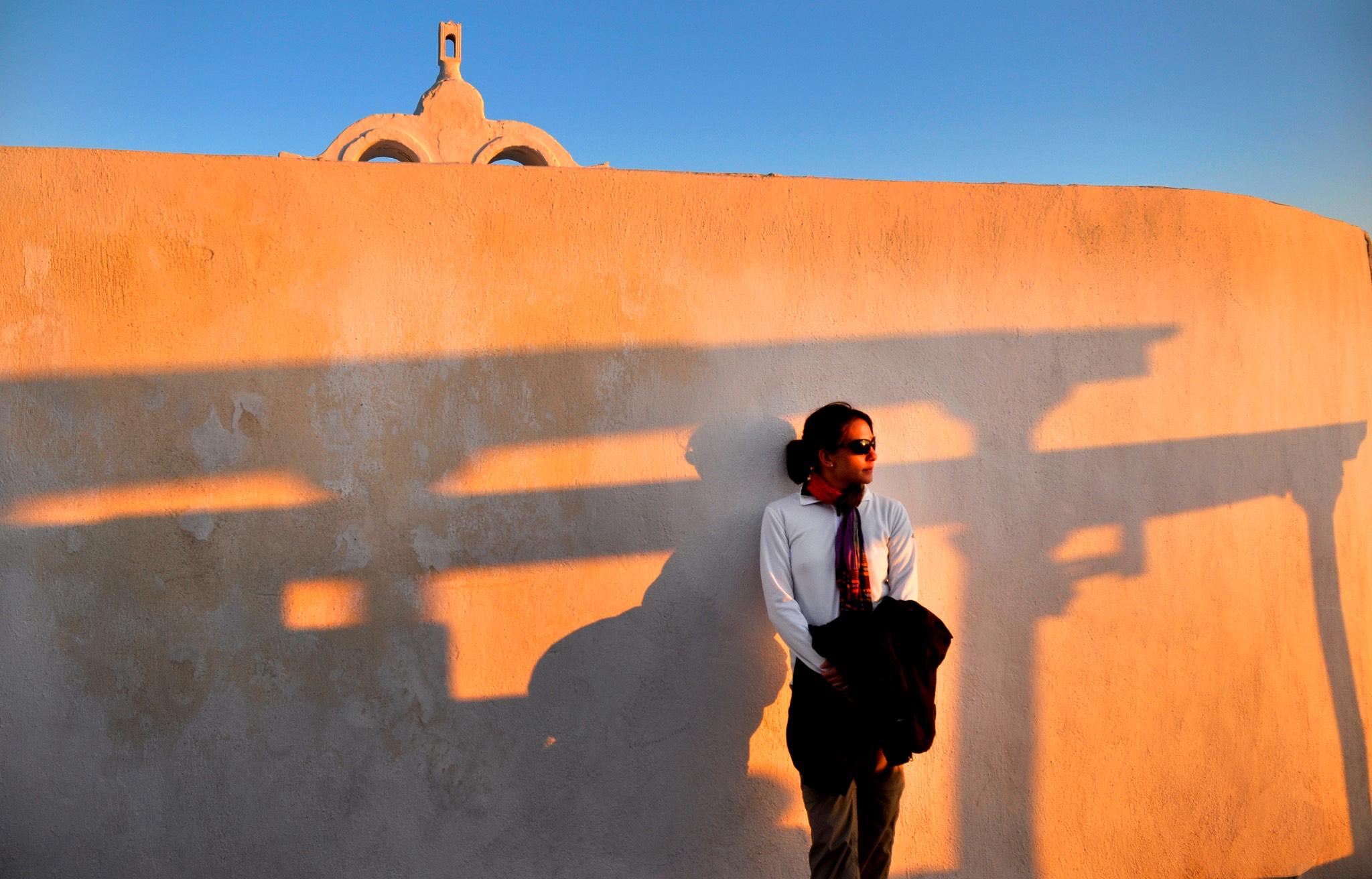 Jamie in SantoriniA