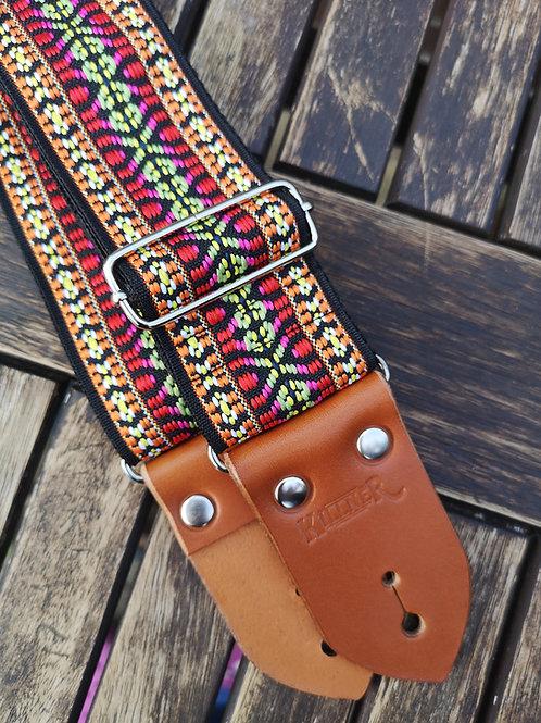 Classic Sunset Strip Guitar Strap