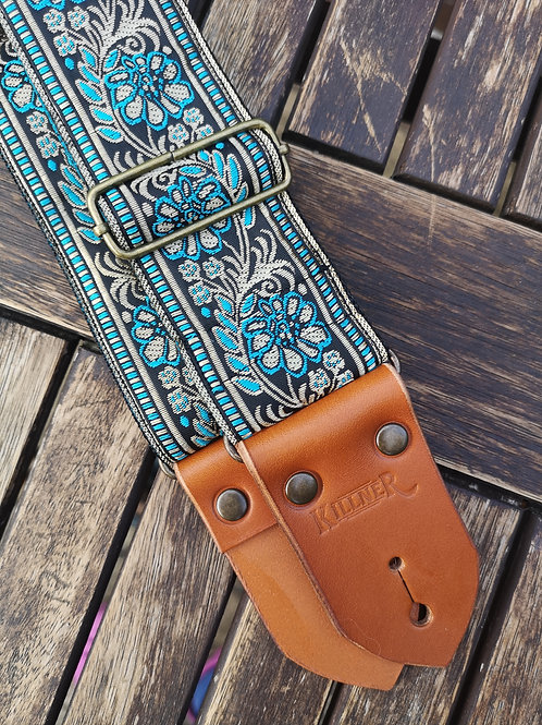 Guilded Leaf Guitar Strap