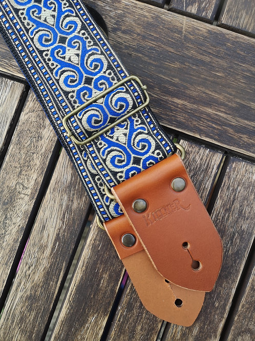 Royal Cobalt Guitar Strap