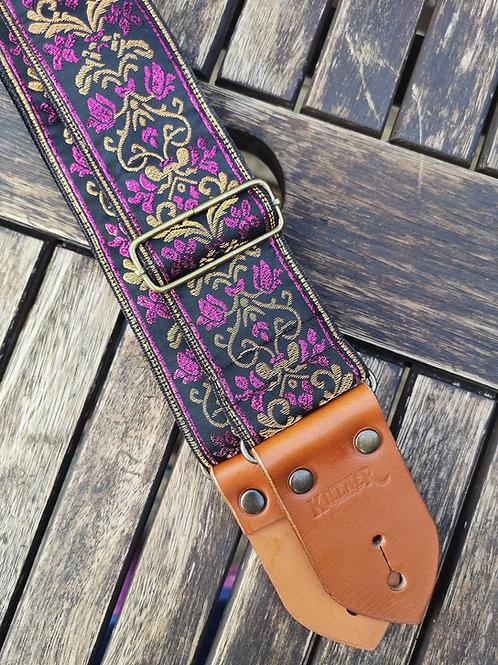 Majestic Purple Guitar Strap