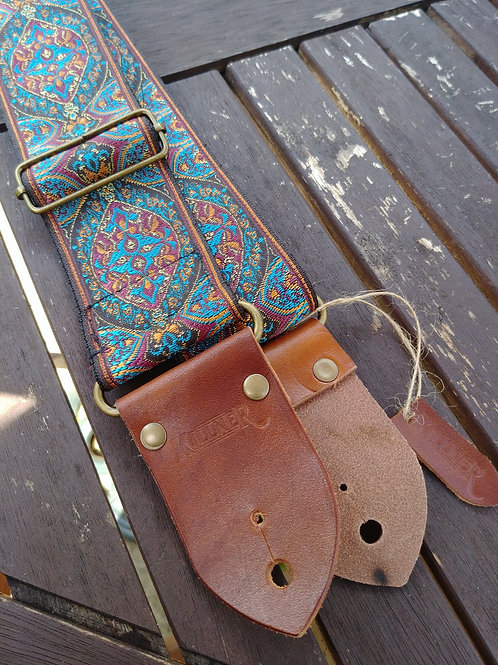 Indian Sunset Guitar Strap