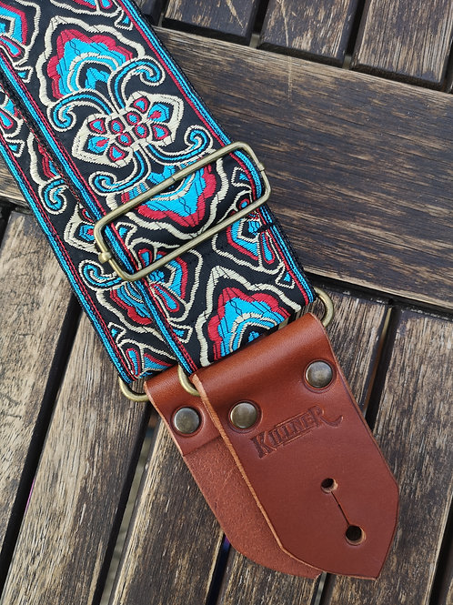 Ocean Jewel Guitar Strap