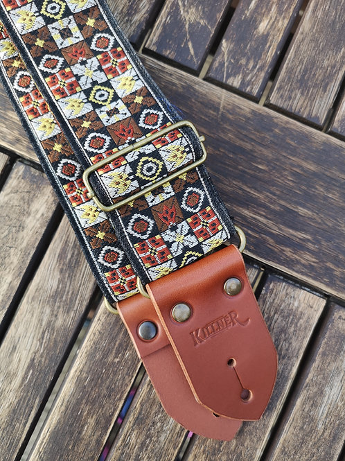 Folk Festival Guitar Strap