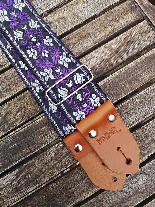 Purple Prince Guitar Strap
