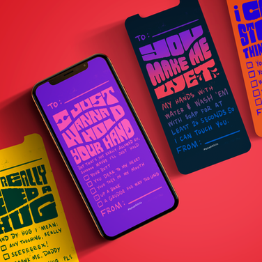 'Corona Cards' - Social Campaign