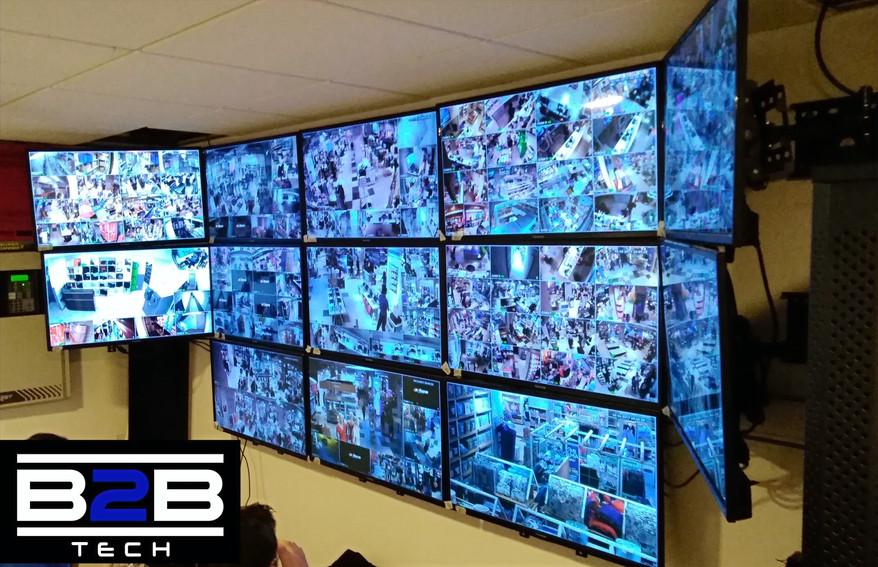 Sistema de CCTV y Sala de Monitoreo