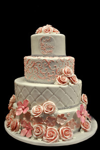 fondant-flowers,-quilted-with-pearls-and
