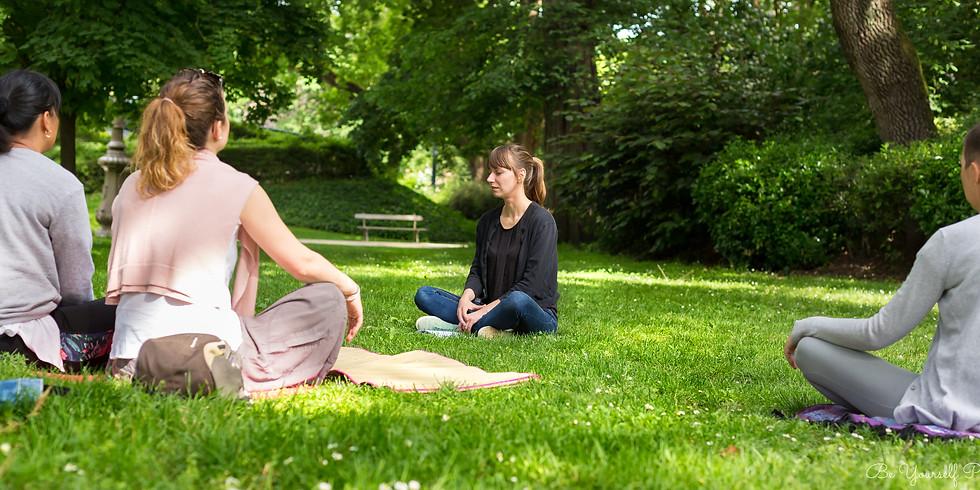Méditation en plein air à Toulouse     samedi 13 juin