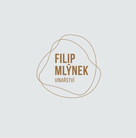 Filip Mlýnek - packaging a vizuální identita - logo