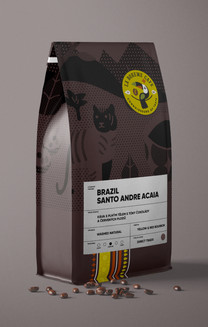 La boheme cafe packaging - návrh obalu káv