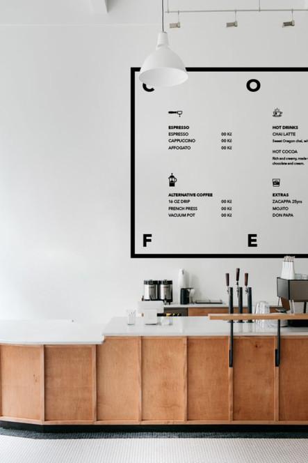 Wonder -  Design coffee baru