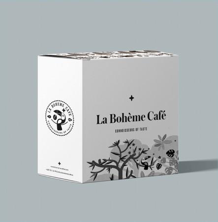 La boheme cafe - návrh krabic