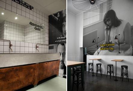 Kino Pilotů - Design interiéru