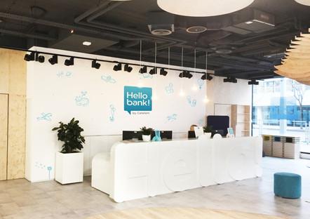 Hello Bank - Design recepce