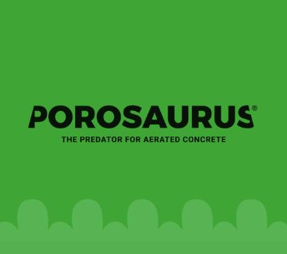 Název značky POROSAURUS