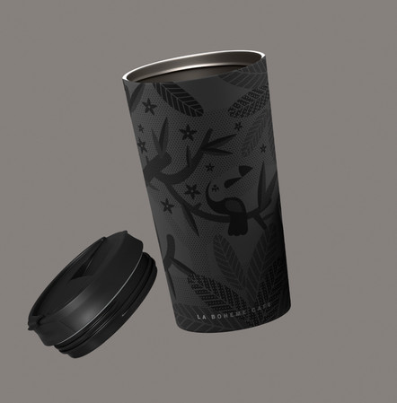 Packaging La boheme cafe