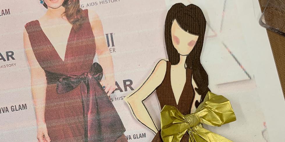 Julie Nutting Paper Dolls-Celebrity Edition