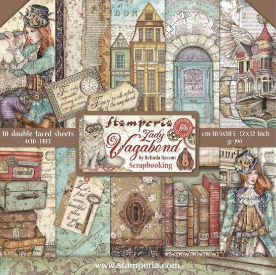 Product Spotlight: Stamperia, a Gateway to Mixed Media