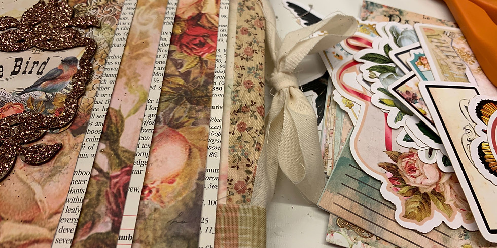 Junk Journals! Page building and Clips!