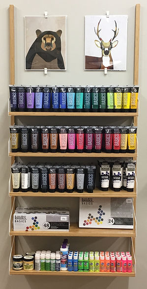 Paints from shop