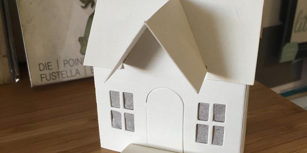 Mini paper houses!