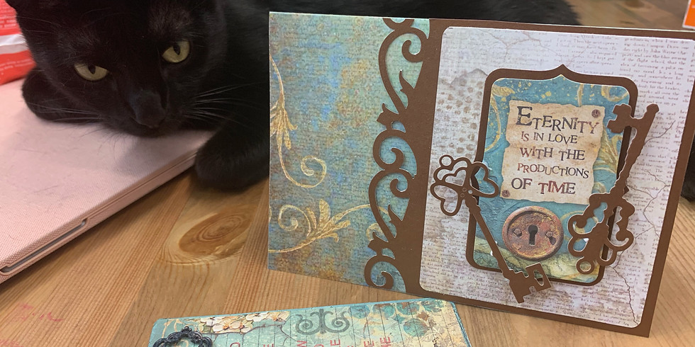 Stamperia Greeting Cards-