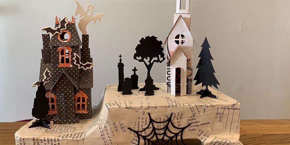 Halloween Haunted Mini houses!