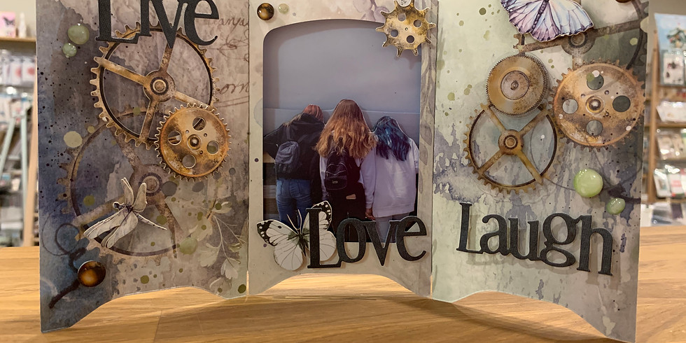 3D Photobox Triptych frame