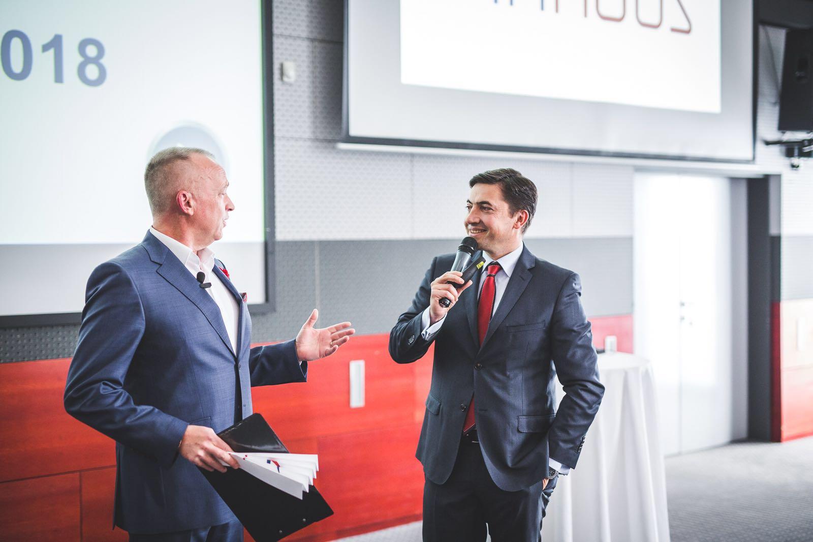 Moderování konference Finhaus